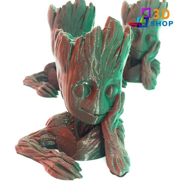 Baby Groot Maceta impresión 3D - 3D Shop