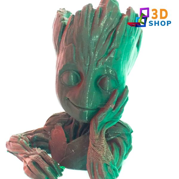 Baby Groot Maceta 10cm impresión 3D - 3D Shop