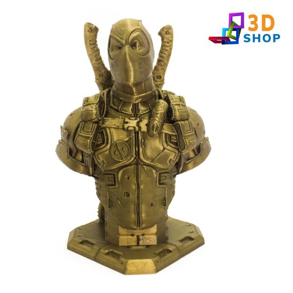Busto de Dead Pool impresión 3D - 3D Shop