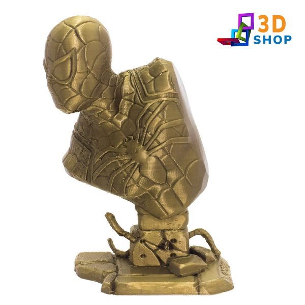 Busto de Spiderman impresión 3D - 3D >Shop