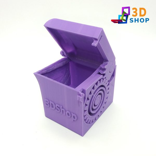 Cajita con Resorte Personalizable 7cm impresa 3D - 3D Shop