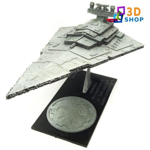 Imperial Star Destroyer 25cm de largo impresión 3D - 3D Shop