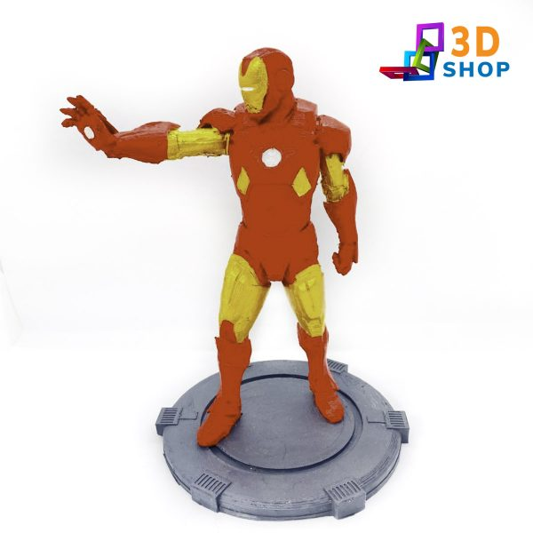 Iron Man 20cm impreso 3D - 3D Shop