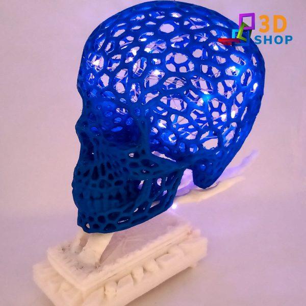 Lampara calavera lel impresa 3D - 3D shop