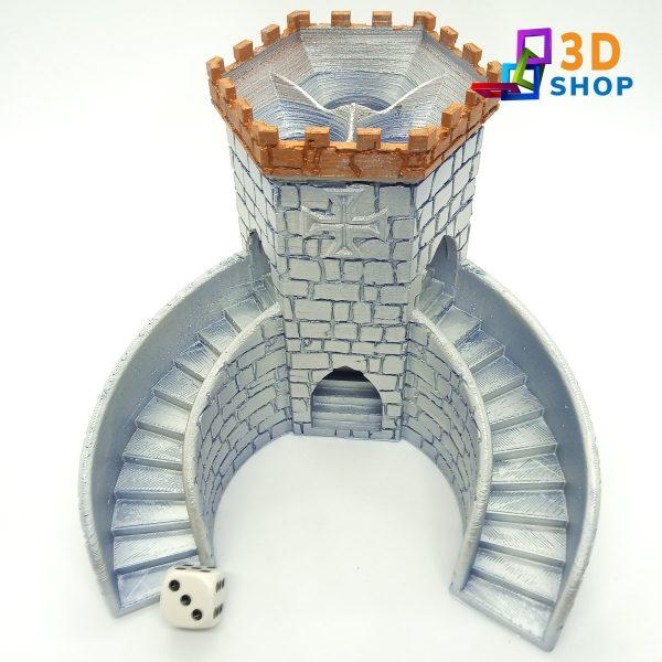 Torre Juego de Dados Especial Rol impresa 3D - 3D Shop