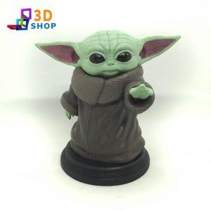 Baby Yoda 12cm impresión 3D - 3D Shop