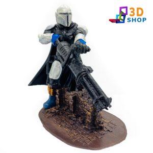 Mandalorian impresión 3D - 3D Shop