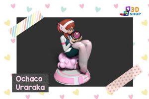 Ochaco Uraraka Boku No Hero Academy impresión 3D - 3D Shop